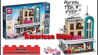 American Diner - LEPIN - 15037 - Aufbau, Teil 3, Fazit - Deutsch / German