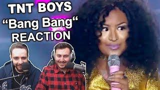 """""""TNT Boys - Bang Bang"""" Singers Reaction"""