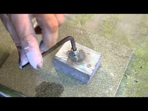 Tipp Knetmetall - Gewinde reparieren - Ohne Gewindeschneiden - Thread repair without thread cutting.