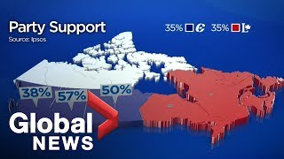 Canada Election: Liberals, Conservatives Tied In Ipsos Poll