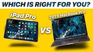 "iPad Pro (iPadOS) vs 2019 MacBook Pro 13"" | FULL COMPARISON | The Final Showdown!"