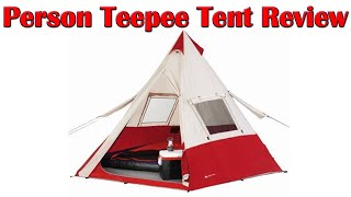 Ozark Trail 7 Person Teepee Tent Setup - Ozark Trail 7 Person Teepee Tent Review