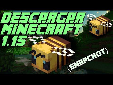 Como Descargar Minecraft 1.15 Abejas! PC | (Snapshot 19w34a) | GoldemSheep