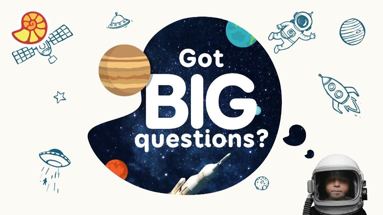 Got Big Questions? Get Big Answers on the Da Vinci Kids app!
