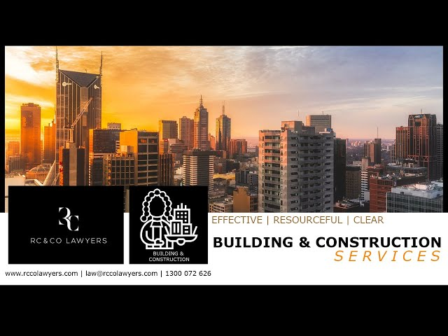 RC & CO LAWYERS | Building & Construction Services