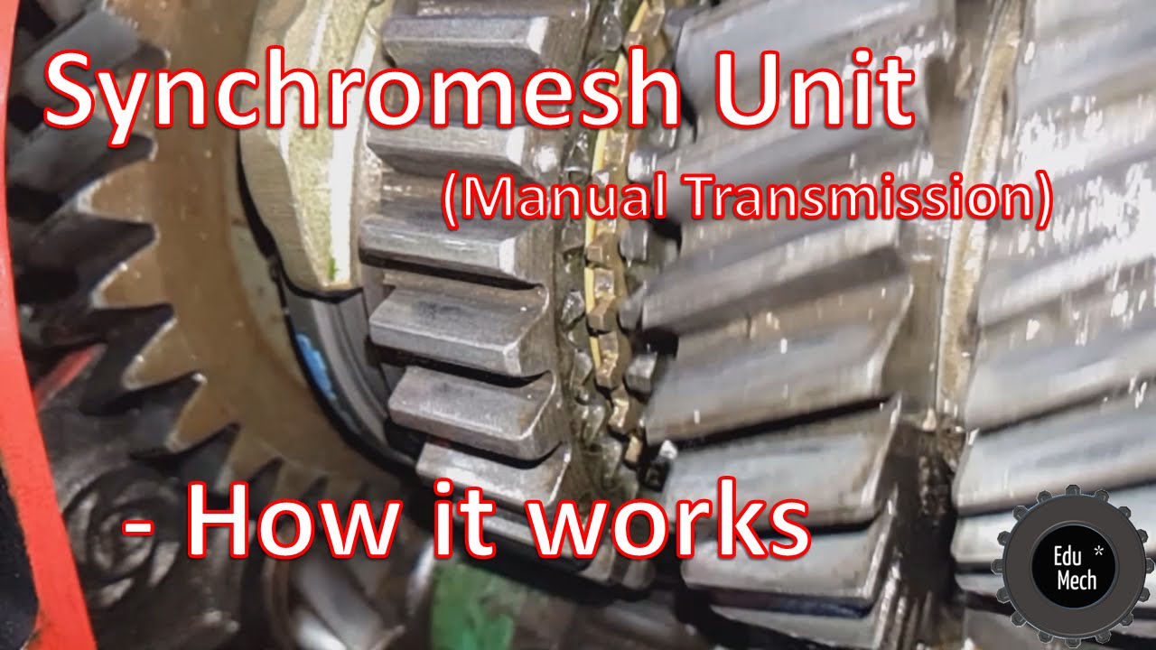Synchromesh Unit  Manual Car Transmission