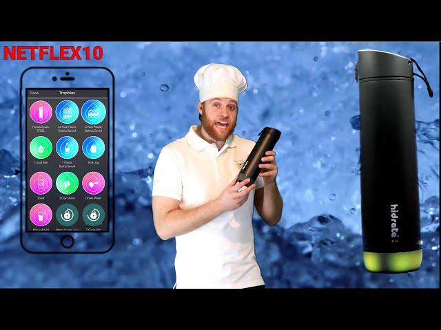 The PE Chef REVIEWS: HidrateSpark Water Bottle [Affiliate Promotion]