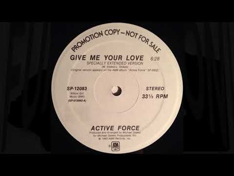 Active Force - Give Me Your Love [Specially Extended Version] thumbnail