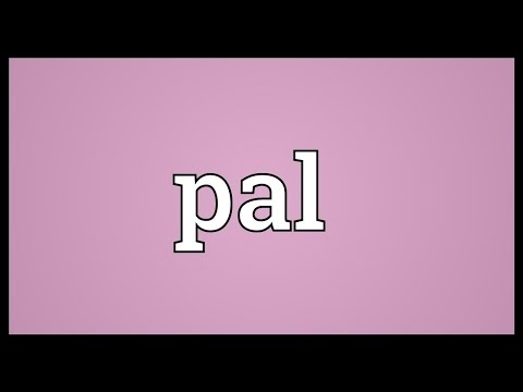 Pal Meaning