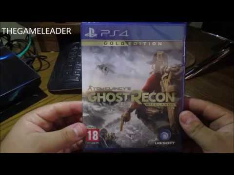 Tom Clancys Ghost Recon Wildlands Gold Edition Ps4 Unboxing