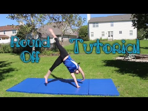 Beginner Gymnastics: Round Off Tutorial