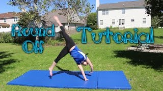 Beginner Gymnastics: Round Oḟf Tutorial