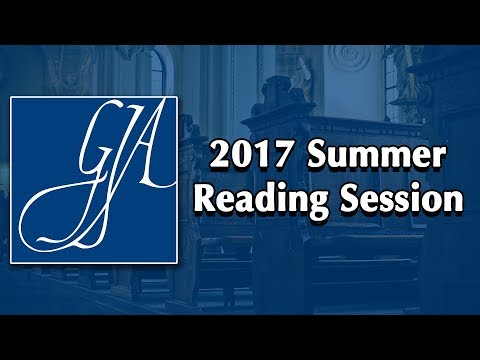 GIA 2017 Summer Reading Session