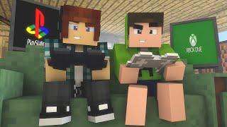 Minecraft: Playstation Vs Xbox - Batalhas SkyWars