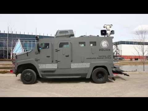 Calgary Police Service replaces Armoured Rescue Vehicle
