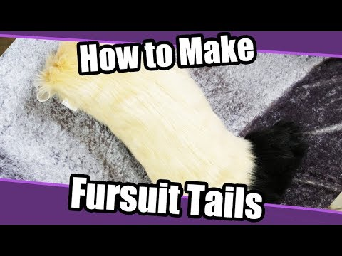 Tutorial 6 Tail For Fursuit Cosplay Pdf Pattern Youtube
