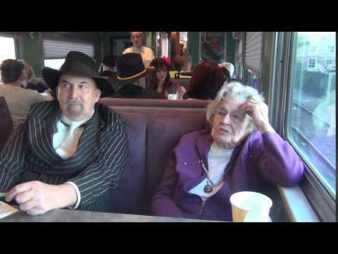 """""""troop train"""" ride with Margie"""