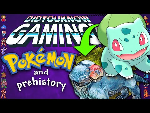 Pokemon & Prehistory - Did You Know Gaming? Ft. TierZoo