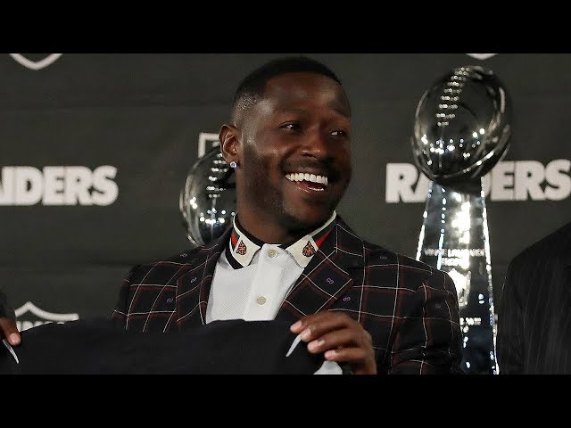 Antonio Brown's Intro Presser with the Raiders,