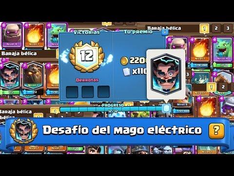 ¡¡¡LAS MEJORES BARAJAS CON EL MAGO ELÉCTRICO!!! Gameplay de mazos para el desafío   Clash Royale
