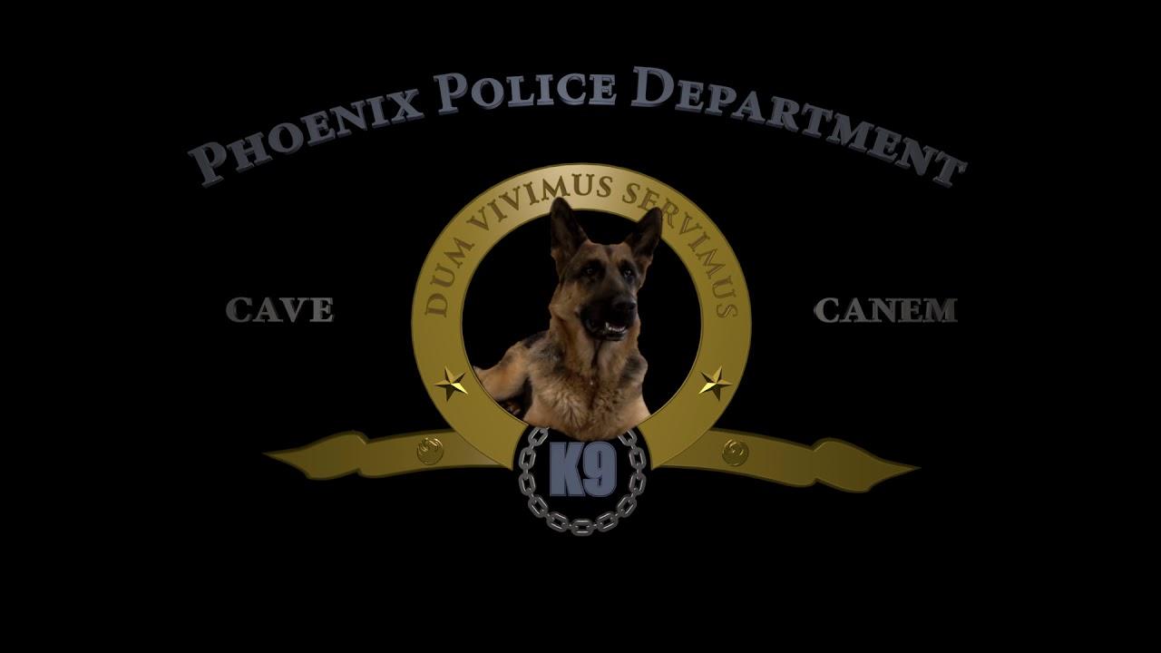 Police K9 Logos – name on