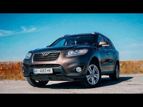 Hyundai Santa Fe - почти европейский кроссовер.