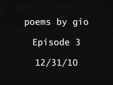 Poems By Gio: