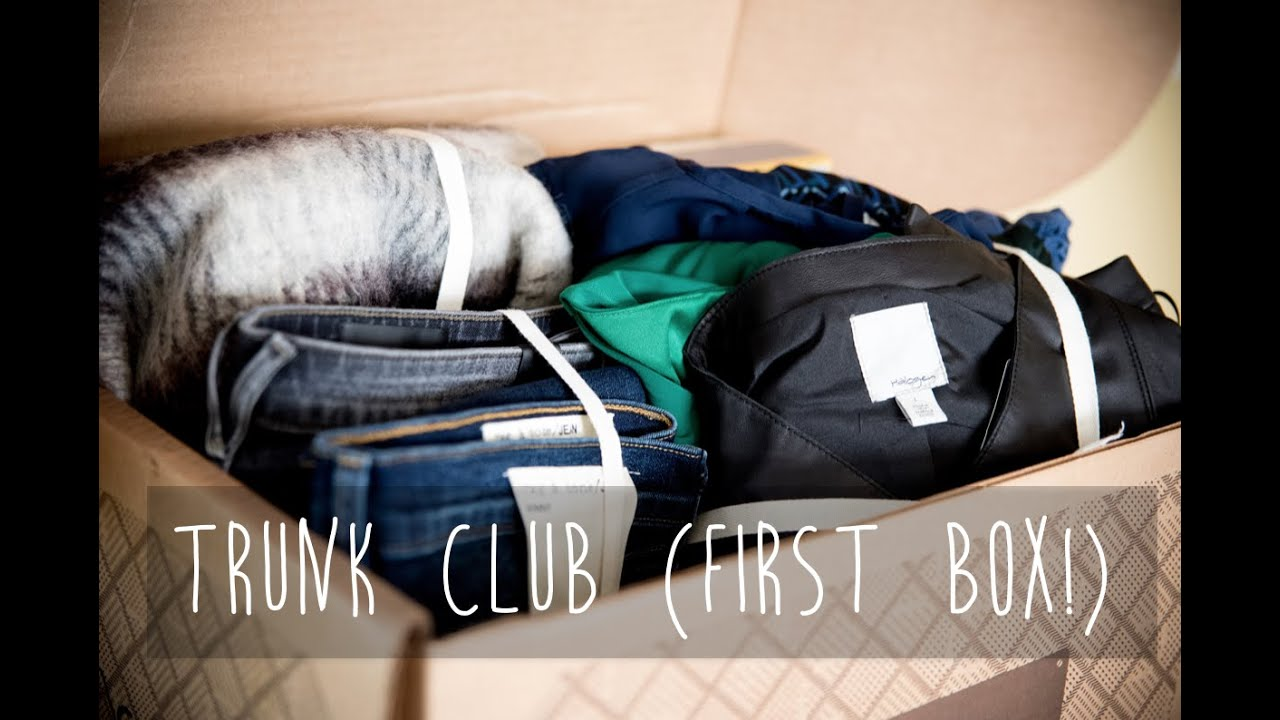 trunk club for women first box youtube