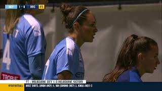 Westfield W-League 2019/20: Round 5 - Melbourne City FC Women v Melbourne Victory Women (Full Game)