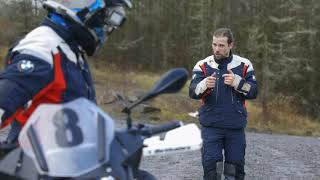 How To Ride Oḟf Road with BMW Off Road Skills - Motorcycle Live 2020