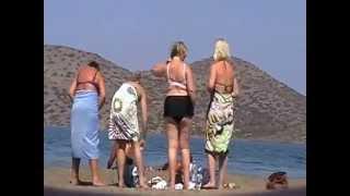пляж переодевание трусов