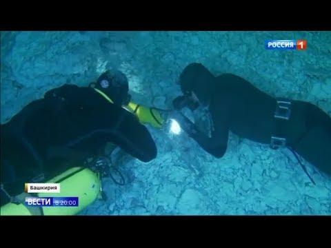 неизвестные раки в 20 километровой подводной пещере - Смотреть видео онлайн