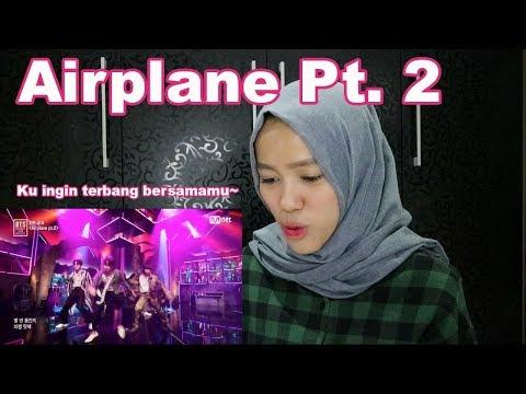 BTS Comeback Show: Airplane Pt. 2 REACTION! Ku Ingin Terbang Bersamamu~
