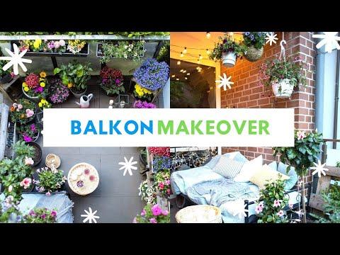 extremes-balkon-makeover-2020!-wir-dekorieren-den-balkon-komplett-um-#balkonien