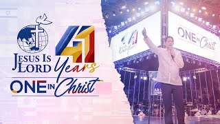 Bro. Eddie's Call to Being United in Christ | JIL Church 41st Anniversary
