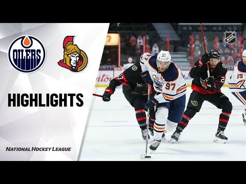 Oilers @ Senators 4/7/21 | NHL Highlights