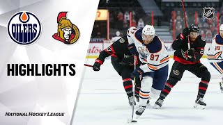 Oilers @ Senators 4/7/21 | NHL Highlights