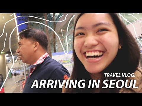 TRAVEL VLOG: ARRIVING IN SEOUL, SOUTH KOREA | Seouraldine