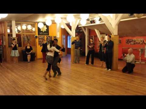 Sebastián Achaval and Roxana Suarez - Dynamics, argentine tango lesson (2014 Riga Tango Fiesta, LV)