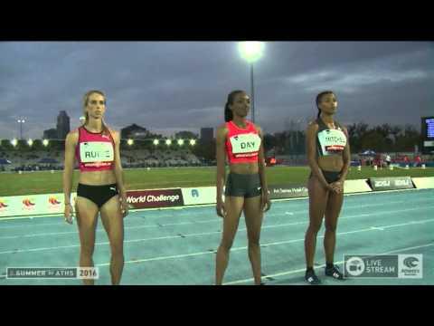 Womens 400m - 2016 IAAF Melbourne World Challenge