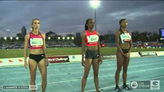Womens 400m - 2016 IAAF Melbourne World Challenge