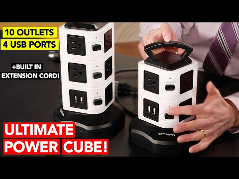 Best Power Outlet Cube w/Built-in Ext Cord Review (24HRS ONLY!)