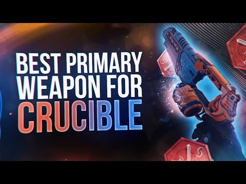 Destiny: BEST PRIMARY WEAPON FOR CRUCIBLE! (THE PALINDROME)