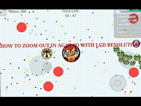 zoom out agario