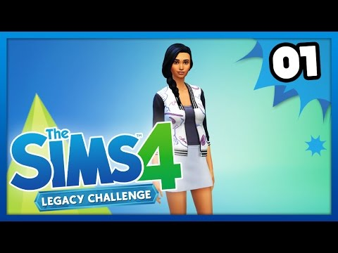 MEET ZOEY - The Sims 4: Legacy Challenge - Ep 1 -