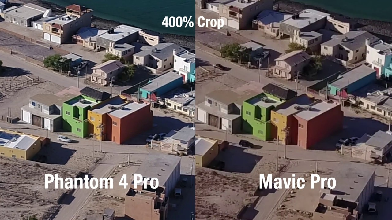 Phantom 4 Pro Advanced Vs Mavic Camera Tests