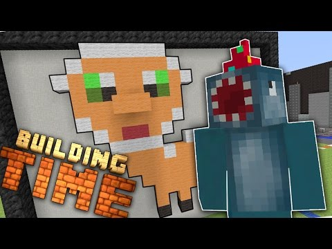 Minecraft Xbox - ART GALLERY! - Building Time! [#20]