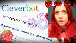 Cleverbot - Jestem chomikiem z planety małp - imponująca rozmowa !