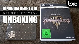Kingdom Hearts III Deluxe Edition Unboxing