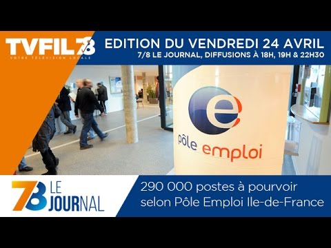 7/8 Le Journal – Edition du vendredi 24 avril 2015